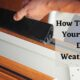 How To Replace Your Garage Door Weatherstrip